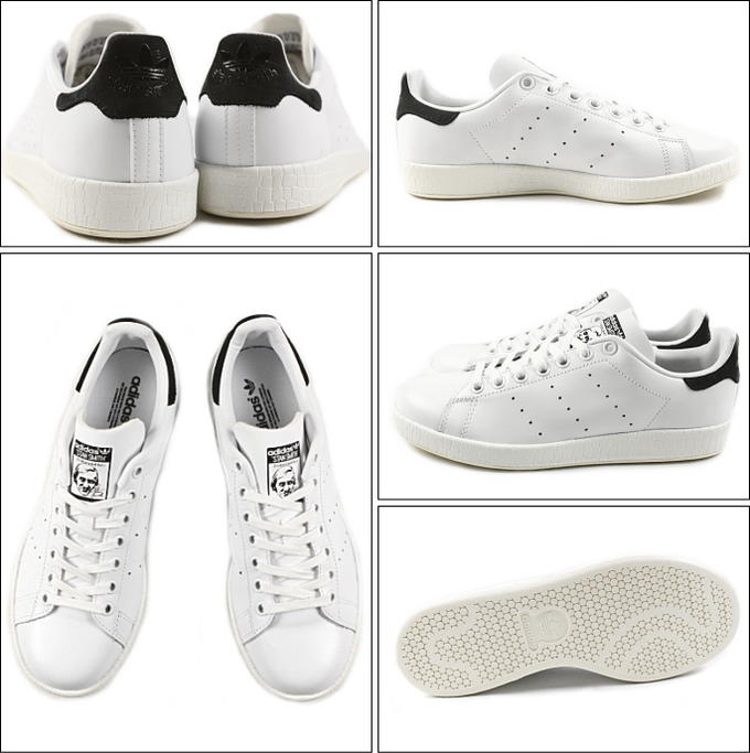 adidas adidas STAN SMITH LUXE W Stan Luxze Womens FTW white /FTW white / core black AF6751