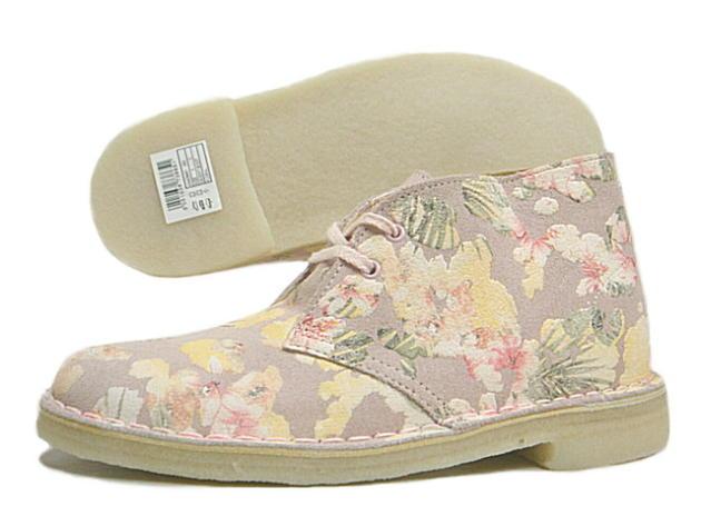 克拉克克拉克斯沙漠靴子靴子花 880 D 流