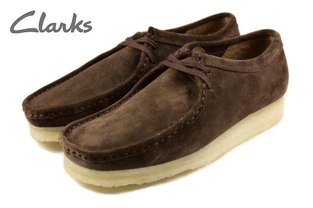 クラークス Clarks WALLABEE ワラビー ダークブラウンスエード 336E-DBRS【FJOJ】【DEAL】[SSS]