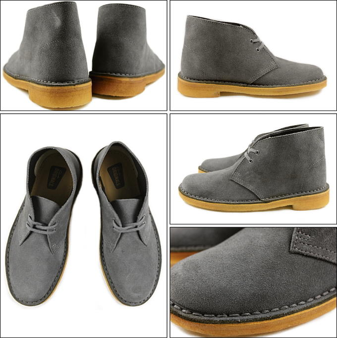 Clarks Clarks DESERT BOOT desert boots dark grey 653 F-DYSS