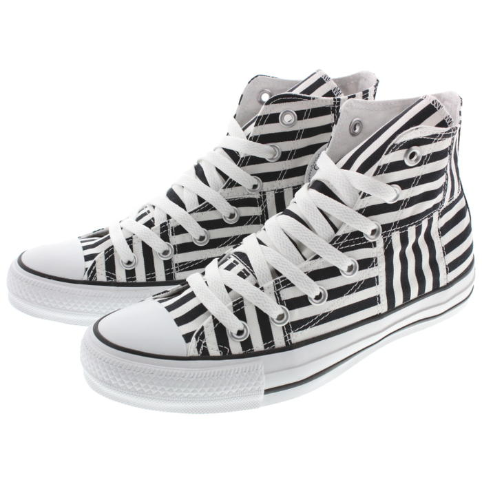 1a5a86110206 Sneakersoko  Converse CONVERSE sneakers all-stars MX horizontal stripe high ALL  STAR MXBORDER HI white   black 1CL052
