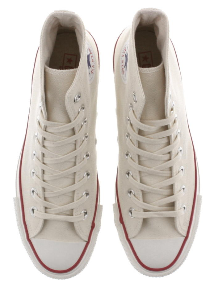 Basic Converse CONVERSE canvas all stars Japan high CANVAS ALL STAR J HI natural white [returned goods, exchange impossibility]