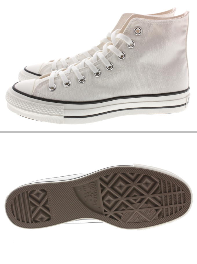 Basic Converse CONVERSE canvas all stars J HI white [returned goods, exchange impossibility]
