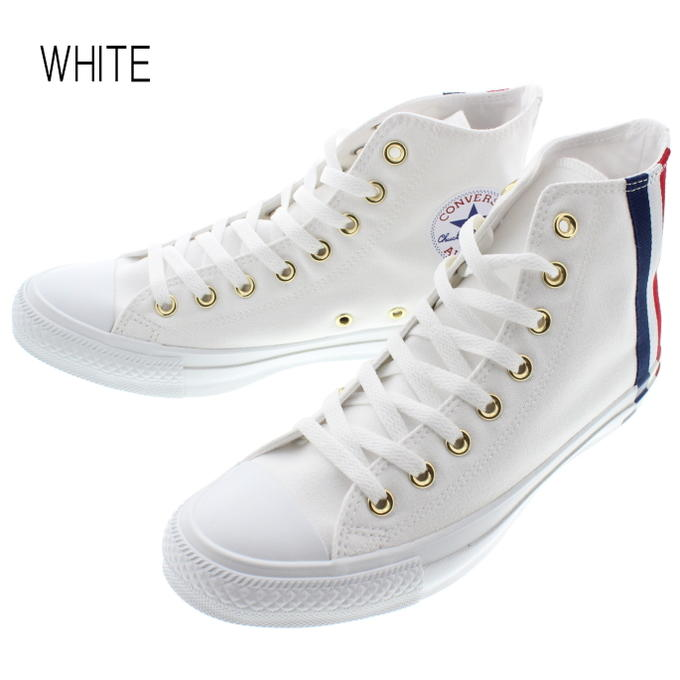 Converse CONVERSE sneakers all stars 100 Hugh dipatch high ALL STAR 100 HUGEPATCH HI green (1CL223) red (1CL224) white (1CL225) [returned goods,