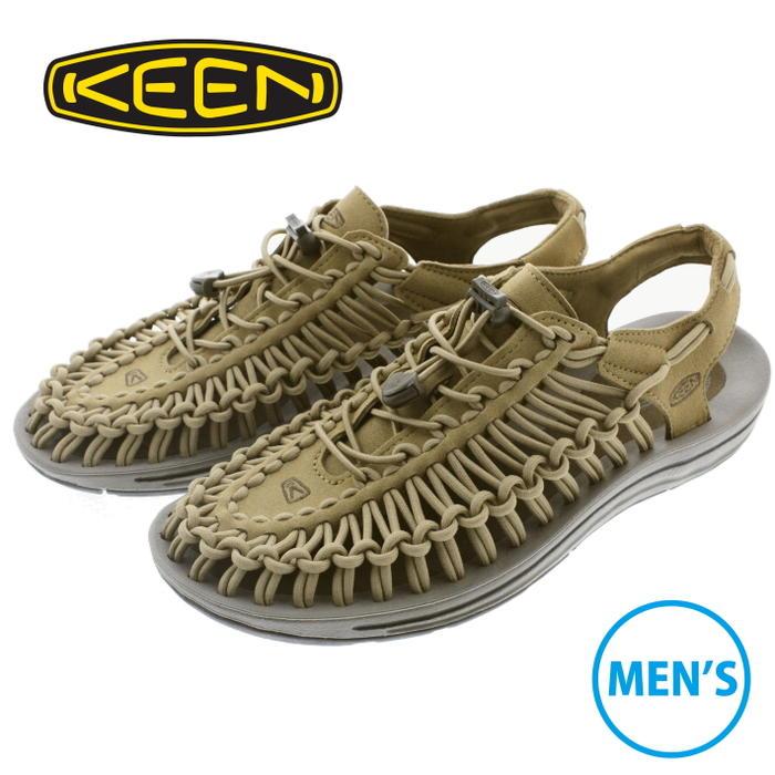 キーン KEEN メンズ サンダル スニーカー ユニーク UNEEK アンティークブロンズ/キャンティーン 1018673 【FMOH】