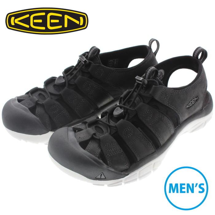 キーン KEEN メンズ サンダル ニューポート エーティーヴィ NEWPORT ATV ブラック/スターホワイト 1016865 【FMOH】