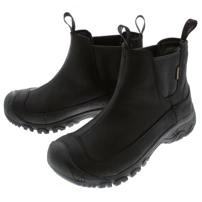 キーン KEEN アンカレッジ ブーツ 3 ウォータープルーフ ANCHORAGE BOOT 3 WP ブラック/レイブン 1017789 [T]【FMFF】