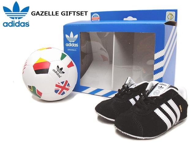 adidas adidas GAZELLE GIFT SET Gazelle gift set black / running white upup7