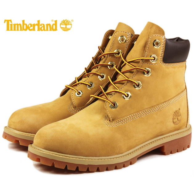 定番 子供 ティンバーランド Timberland 6インチ クラシックブーツ ウィートヌバック 12909