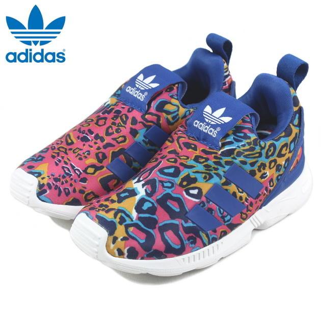 size 40 4b78a c9cd0 Child Adidas adidas ZX FLUX 360 I Z X flux 360 I FTW white /EQT blue /EQT  blue S75218