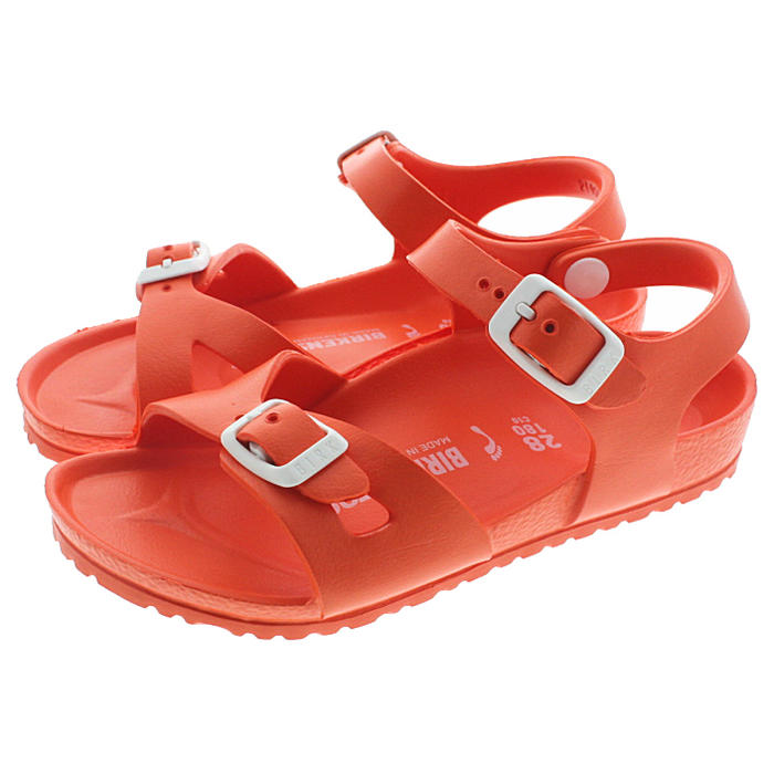 d7adc9ab9c32 Sneakersoko  It is child ビルケンシュトック BIRKENSTOCK sandals Rio Rio EVA scuba  Coral 1003537  in an entry until point 20 times 11 1 23 59