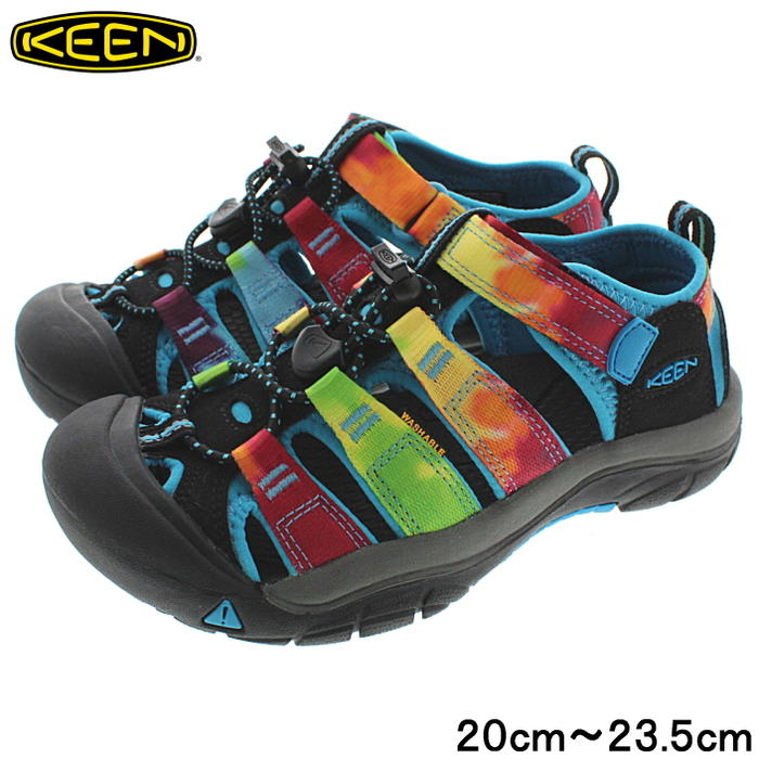 c6f2e850f776 Sneakersoko  It is child Kean KEEN sandals Newport H2 NEWPORT H2 rainbow  tie-dyeing 1018441  in an entry until point 20 times 11 1 23 59
