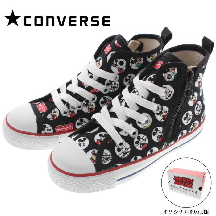 829dc7b5f425b3 Child Converse CONVERSE sneakers child all-stars N Mickey Mouse HM Z high CHILD  ALL STAR N MICKEY MOUSE HM Z HI black 3CL276