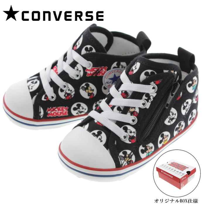 2f3e03f06279 Sneakersoko  Child Converse CONVERSE sneakers baby all-stars N Mickey Mouse  HM Z BABY ALL STAR N MICKEY MOUSE HM Z black 7CL283
