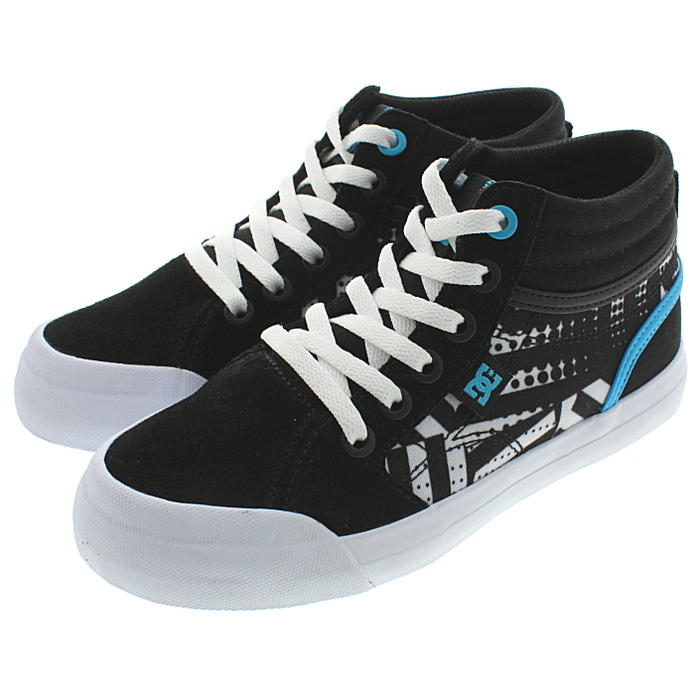 27a23a434e07 Sneakersoko  Child D sea shoes DC SHOES sneakers use Evan high SP YOUTH  EVAN HI SP DK191003 black   duck print (0CP)