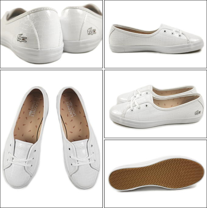 Lacoste Ziane Chunky Crc White Sneakers  Women