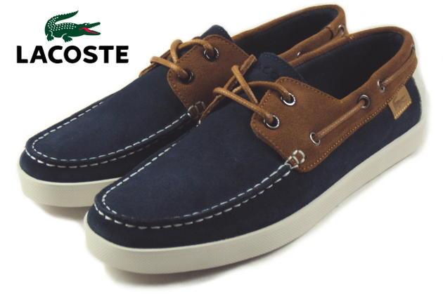 39e02f40e64710 Sneakersoko  LACOSTE Lacoste KEELLSON 6 Kelson 6 Navy Blue   Tan MSF415-NT1