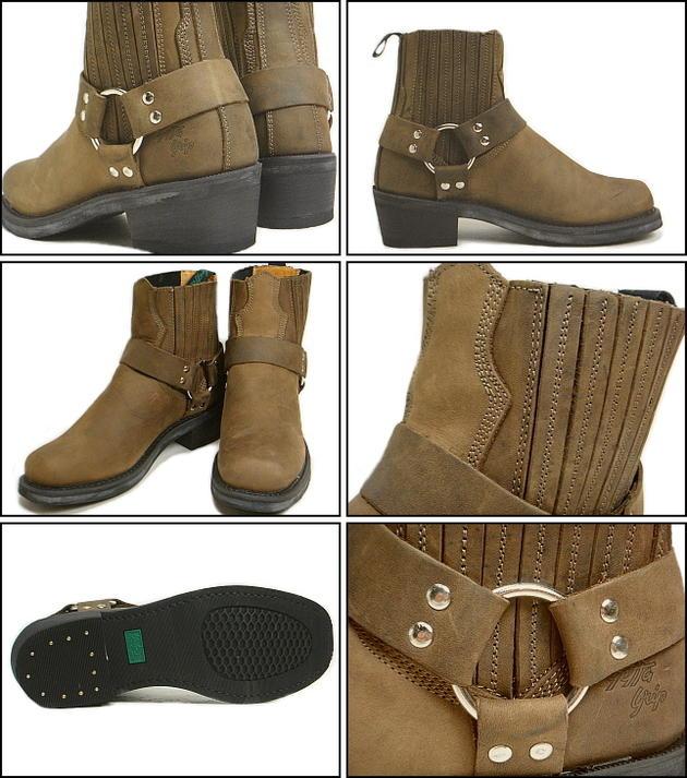 Getta Grip Guetta grip 6 インチリング boots dark brown DBRNG9935GG fs3gm