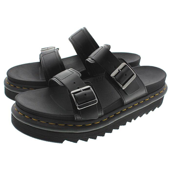 doctor Martin Dr.Martens sandals Myles MYLES black 23523001 [returned goods, exchange impossibility]