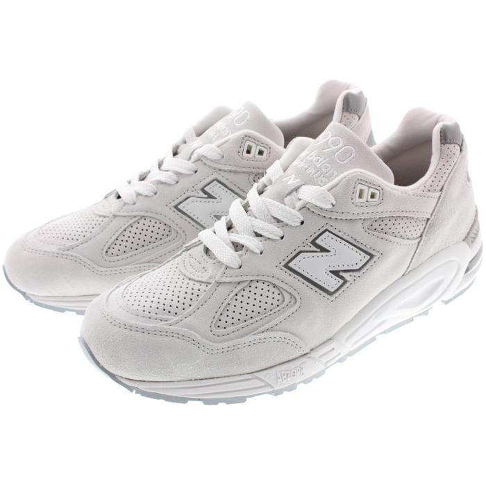 save off 9c9c3 e3a03 New Balance New balance sneakers M990 white WHITE NC2 [returned goods,  exchange impossibility]
