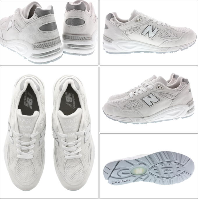 save off 1f6de 84d9a New Balance New balance sneakers M990 white WHITE NC2 [returned goods,  exchange impossibility]