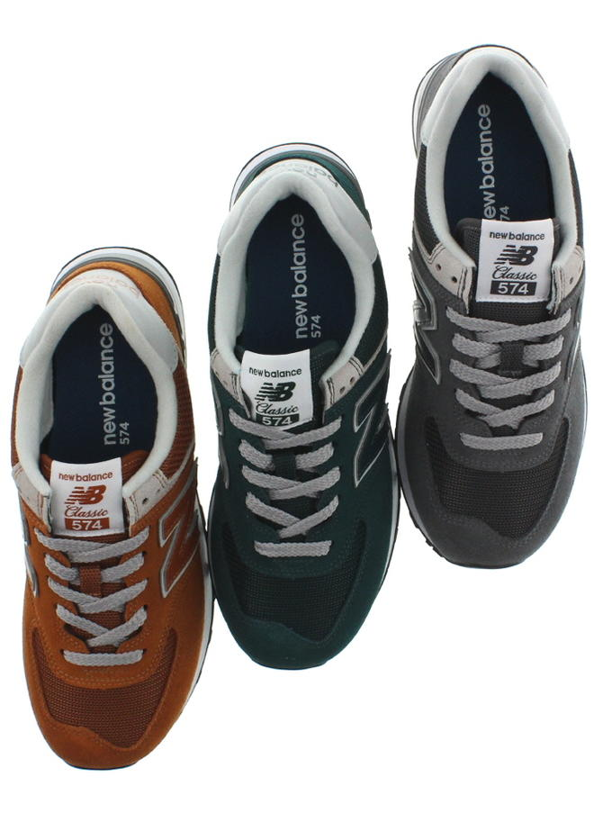 newest ec895 c05af New Balance New balance sneakers ML574 canyon (EPE) deep Jade (EPF) gray  (EPH) [returned goods, exchange impossibility]