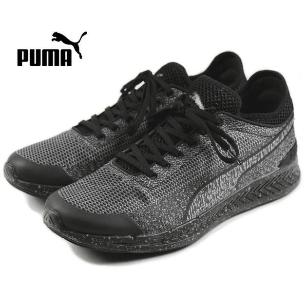 プーマ PUMA IGNITE SOCK WOVEN イグナイト ソック ウーブン ブラック/ブラック 360897-03【FKOH】【DEAL】