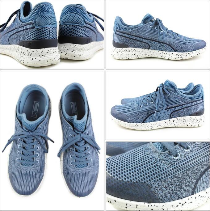 Puma Ignite Sock Woven: Blue | Sneakers | Zapatillas