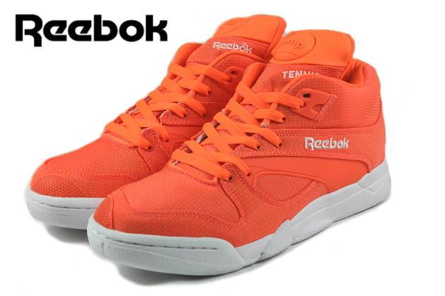 Reebok Reebok COURT VICTORY PUMP court victory pump solar orange / white M46325