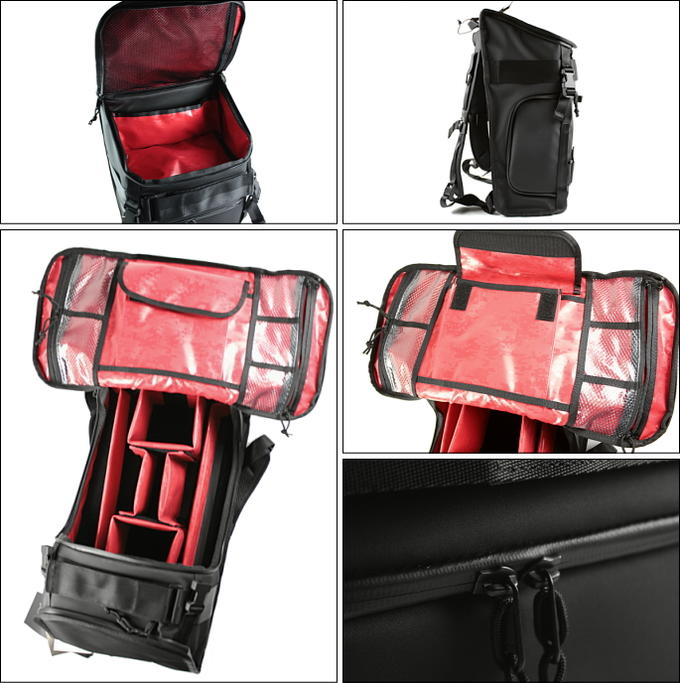 PACK CHROME chrome NIKO Niko Pack black / red BG153-BKRD