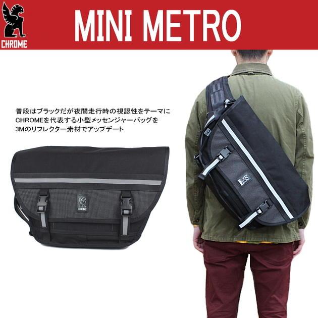 定番 クローム CHROME MINI METRO ミニ メトロ NIGHT ナイト BG001-NITE101NA [BG]【FJFG】
