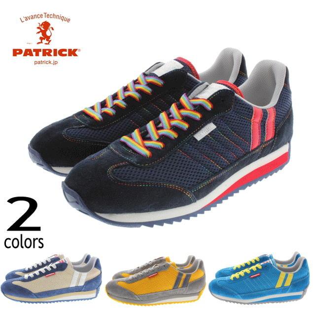 [プレゼントあり]交換・返品送料無料 パトリック PATRICK C-MARATHON クール マラソン レインボー(528202) サンド(528203) イエロー(528205) ターコイズ(528206)【FKOL】