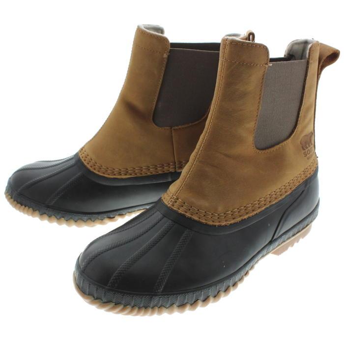 ソレル SOREL ブーツ シャイアン 2 チェルシー CHEYANNE 2 CHELSEA エルク/ブラック NM2609-286 【FMFO】
