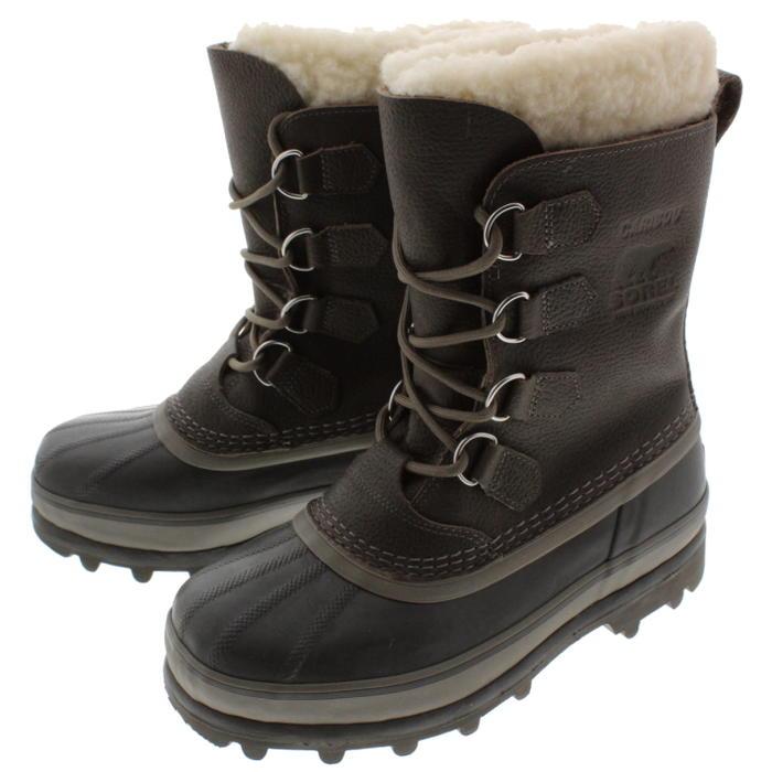 ソレル SOREL ブーツ カリブー ウール CARIBOU WL クオリー/バッファロー NM1481-052 【FMFO】