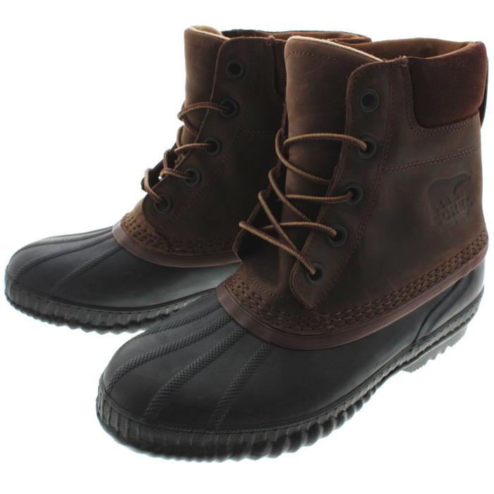 ソレル SOREL ブーツ シャイアン 2 CHEYANNE 2 タバコ/ブラック NM2575-259 【FMFO】