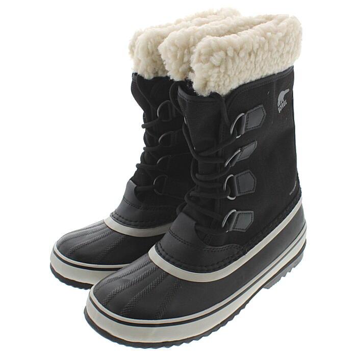 ソレル SOREL ウィメンズ ブーツ ウィンターカーニバル WINTER CARNIVAL ブラック/ストーン NL3483-011 [T]【FNFF】