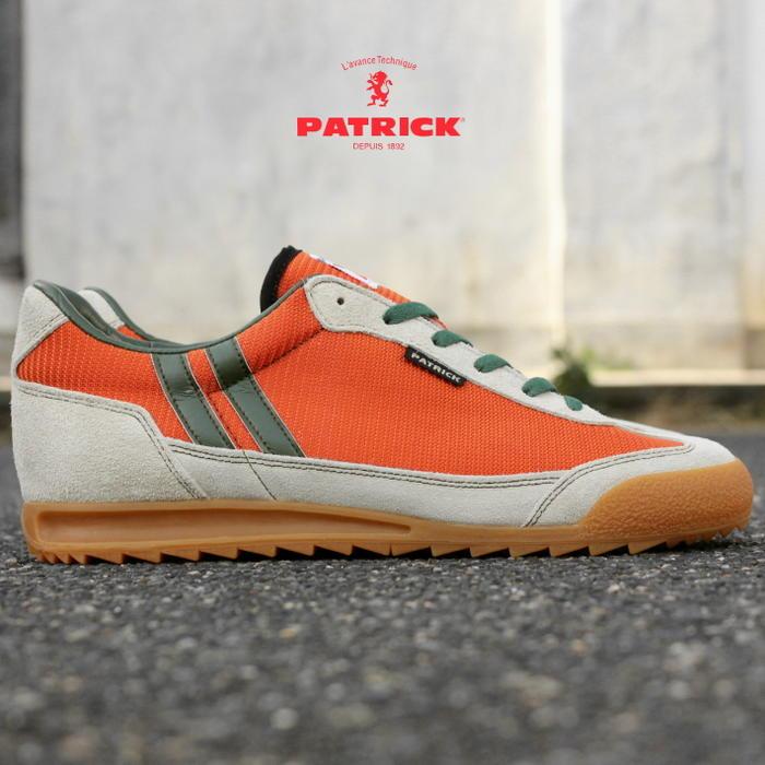 交換・返品送料無料 定番 パトリック スニーカー PATRICK BRONX ブロンクス ORG オレンジ パトリック スニーカー 0065J