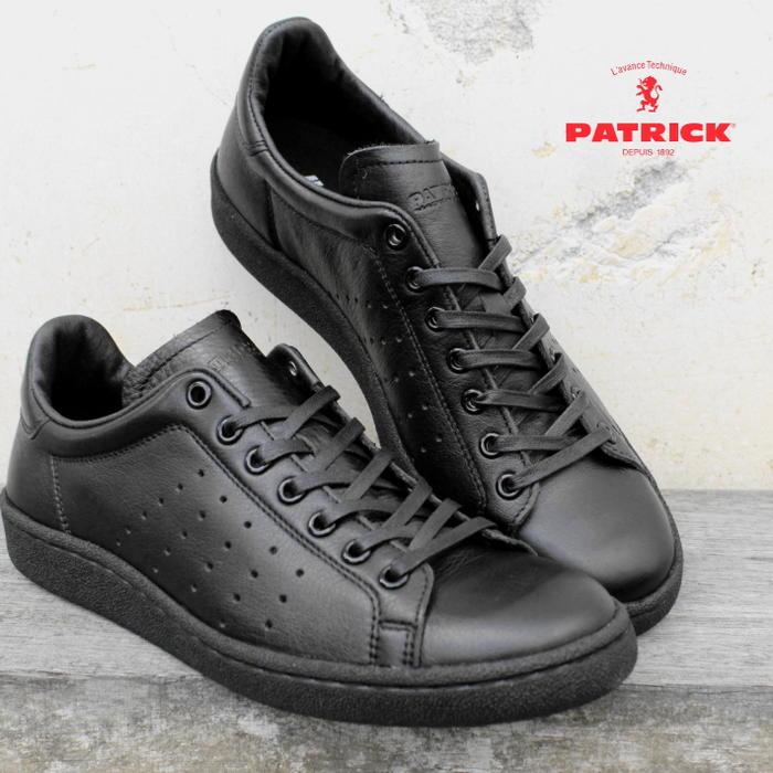 [プレゼントあり]交換・返品送料無料 定番 パトリック PATRICK パンチ 14 PUNCH 14 ブラック BLK 14101