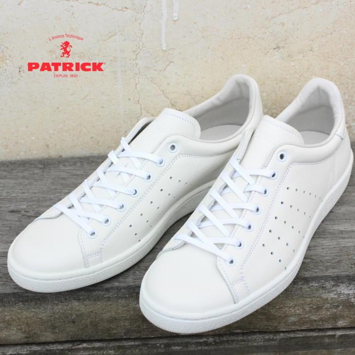 交換・返品送料無料 定番 パトリック PATRICK パンチ 14 PUNCH 14 ホワイト WHT 14100