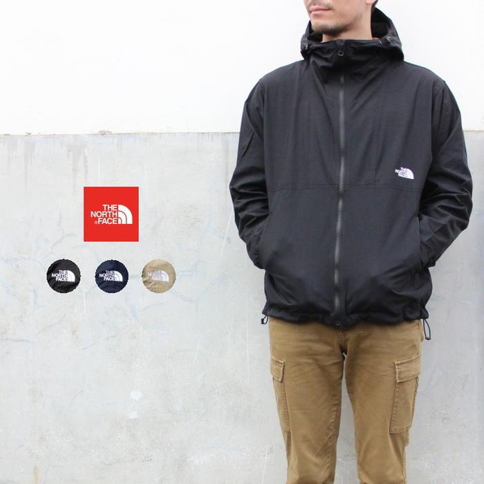 ノースフェイス THE NORTH FACE アウター コンパクト ジャケット COMPACT JACKET NP71830 ブラック(K) コズミックブルー(CM) ツイルベージュ(WB) [WA]【FNOG】