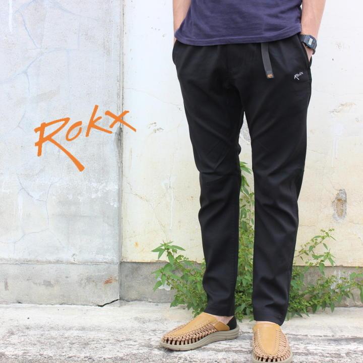 ロックス ROKX クライミングパンツ ライト トレック パンツ LIGHT TREK PANT ブラック RXMS191012-BLACK [T][WA]【FNOM】