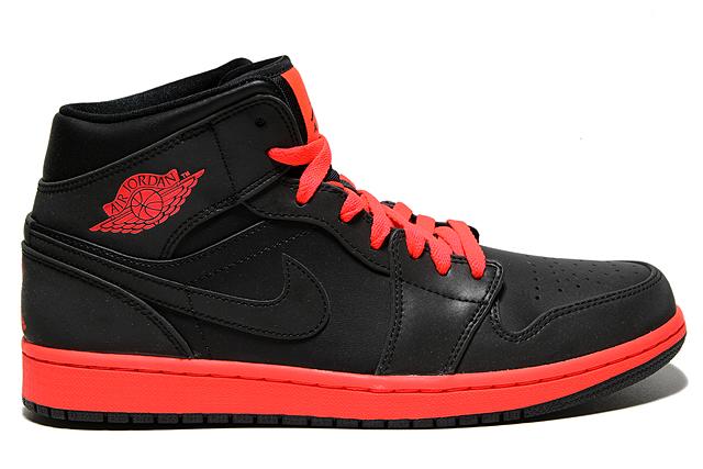 Nike Air Jordan 1 Mid Infrarossi Nere cu0kyN1b4