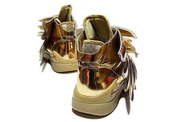"ADIDAS ObyO×Jeremy Scott""JS WINGS 3.0 GOLD""B35651阿迪达斯原始物杰勒米司格JS翅膀3.0黄金人分歧D运动鞋"