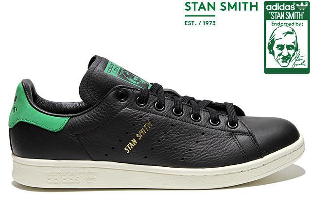 adidas Originals STAN SMITH BZ0458 CORE BLACK/CORE BLACK/GREENアディダス オリジナルス スタンスミス コアブラック グリーン メンズ レディース スニーカー 定番