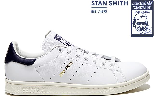 adidas Originals STAN SMITH CQ2870 FTWWHT/FTWWHT/NOBINK NAVYアディダス オリジナルス スタンスミス ホワイト ネイビー メンズ スニーカー 定番