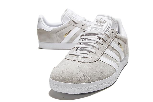 WhiteWhiteMetallic Gold, Gazelle Sneakers adidas Originals