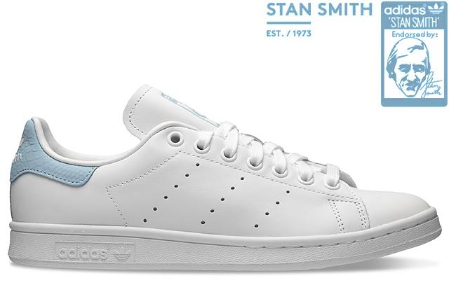 adidas Originals STAN SMITH W EF6877 FTWR WHITE/CLEAR SKYアディダス オリジナルス スタンスミス ウィメンズ フットウェアホワイト スカイブルー レディース ガールズ スニーカー 定番