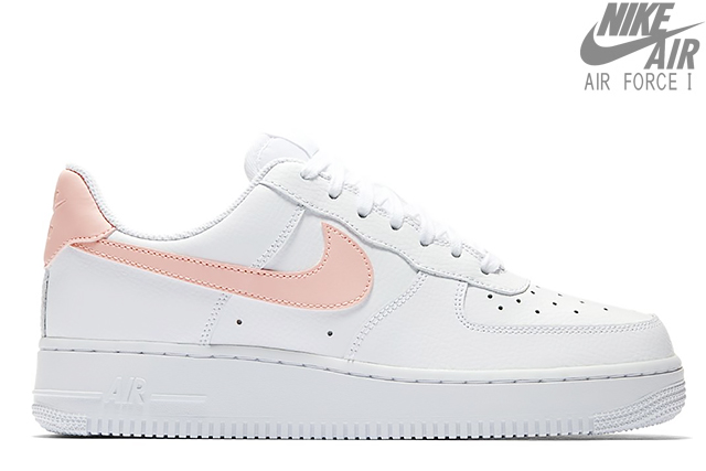 NIKE WMNS AIR FORCE 1 '07 WHITEORACLE PINK WHITE ah0287 102 Nike women air force 1 low 07 white Oracle pink constant seller Lady's sneakers