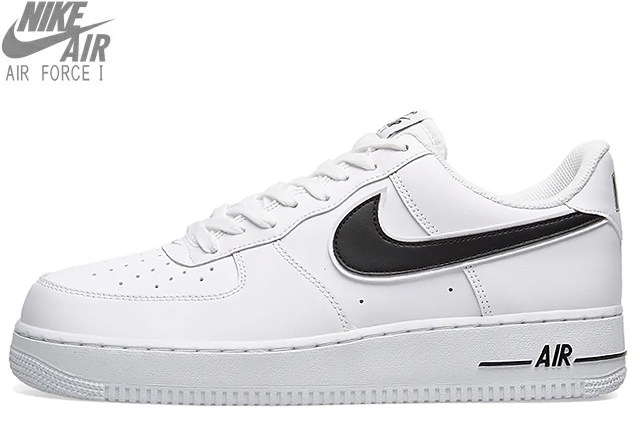 check out 26cde c8641 NIKE AIR FORCE 1 07 3 AO2423-101 WHITE BLACK