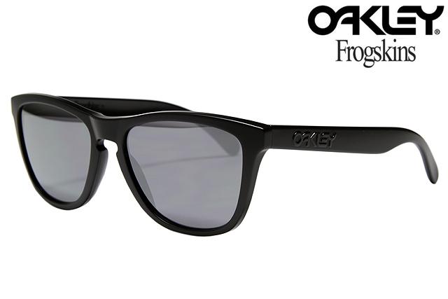 oakley frogskin black matte